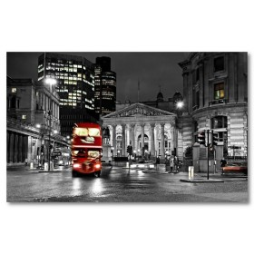 Αφίσα (μαύρο, λευκό, άσπρο, Λονδίνο)